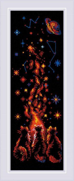 Набор для вышивки крестом Риолис «Магия ночи» 1892