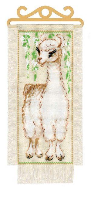 Набор для вышивки крестом Риолис «Альпака» 1890