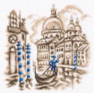 Набор для вышивки крестом RTO «На улицах Венеции» C328