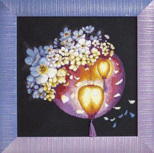 Набор для вышивки крестиком Чарiвна Мить «Ночное свечение» iМ-272