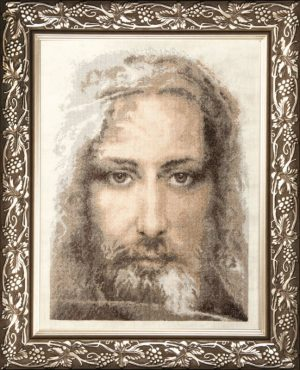 Набор для вышивки крестиком Чарiвна Мить «Иисус Христос» М-202
