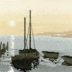 Набор для вышивания крестом Heritage «Гавань» PSSH331E