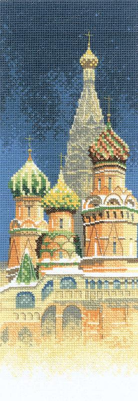 Набор для вышивания крестом Heritage «Собор Василия Блаженного» JCSB581E