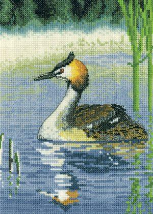 Набор для вышивания крестом «Водяная птица» NAGR1499E