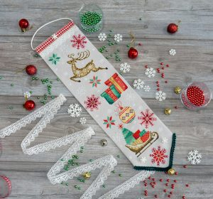 Набор для изготовления вымпела Марья Искусница «Зимнее новогоднее» 21.003.11