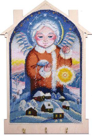 Набор для создания ключницы Марья Искусница «Снежный ангел» 22.002.11