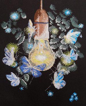 Набор для вышивания крестом Марья Искусница «Ночные мотыльки» 03.015.17