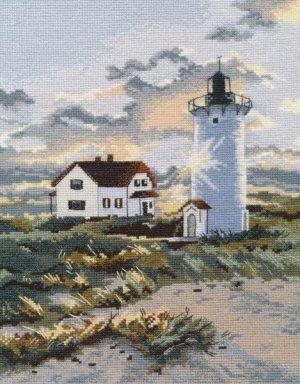 Набор для вышивания Овен крестом «Береговой маяк» ov1174