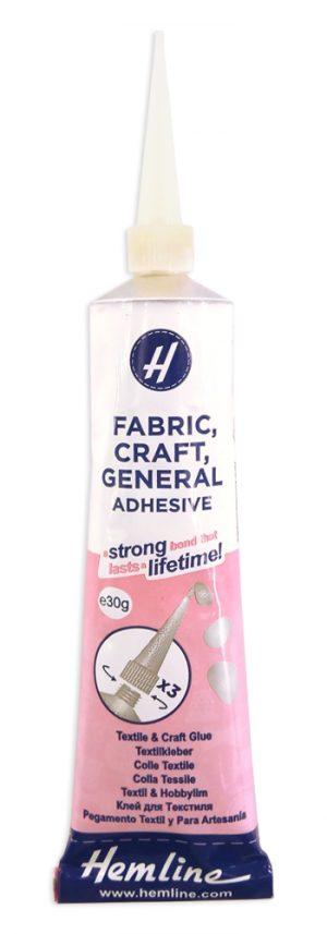 Клей для текстиля, HEMLINE 30 г