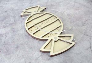 Органайзер для бисера с крышкой М.П.Студия и Жар-птица «Конфета» ОР-174