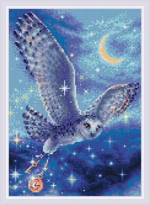 Алмазная мозаика Риолис «Волшебная сова» АМ0041