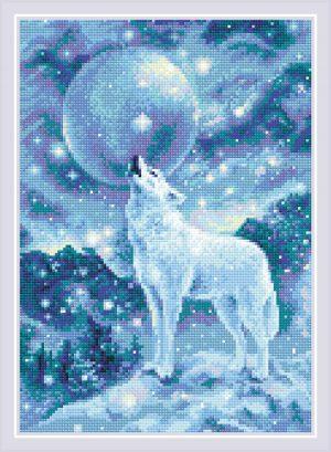 Алмазная мозаика Риолис «Ледяной ветер» АМ0042