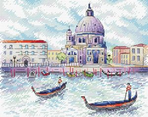 Набор для вышивания крестом М.П.Студия и Жар-птица «Дух Венеции» М-522