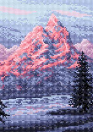 Алмазная мозаика Brilliart (М.П.Студия) «Эверест» МС-046