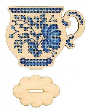 Набор для вышивания на деревянной основе М.П.CТУДИЯ «Время пить чай» О-011