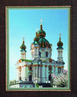 Набор для вышивки крестиком Чарiвна Мить «Андреевская церковь» РК-072