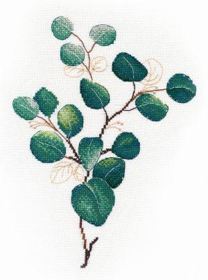 Набор для вышивания крестом Овен «Тропическая зелень №2» ov1315
