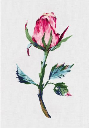 Набор для вышивания гладью Panna «Розовый бутон» JK-2196