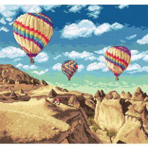 Набор для вышивания крестом Letistitch «Balloons over Grand Canyon» LETI.961