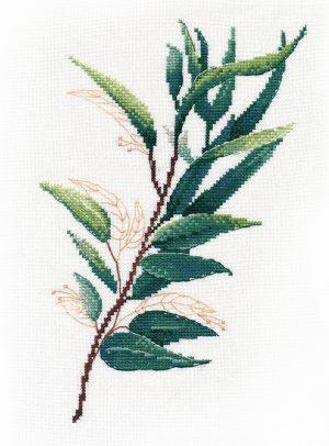 Набор для вышивания крестом Овен «Тропическая зелень №1» ov1314