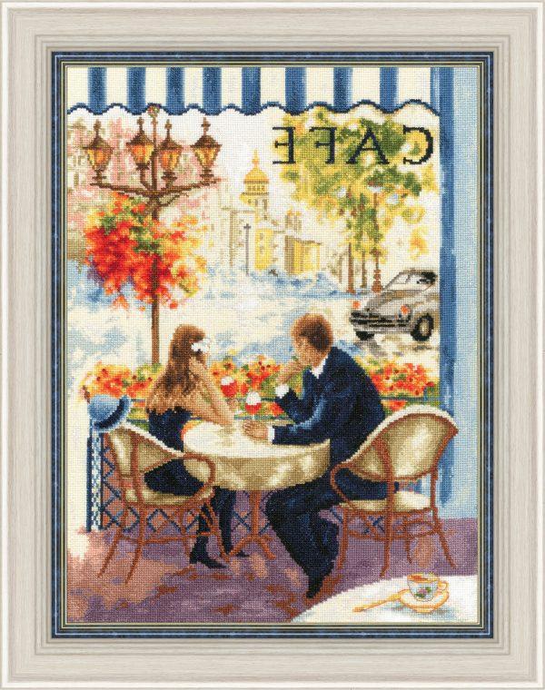 Набор для вышивания Золотое Руно «Свидание в Париже» ЧМ-074