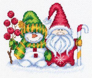 Набор для вышивания крестом Klart «Зимний приветик» 8-415