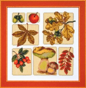 Набор для вышивки крестиком Чарiвна Мить «Осенний микс» М-118