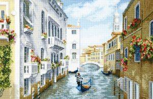 Набор для вышивки крестиком Чарiвна Мить «Полдень в Венеции» М-384