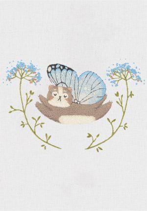 Набор для вышивания гладью Panna «Котофей» JK-2199