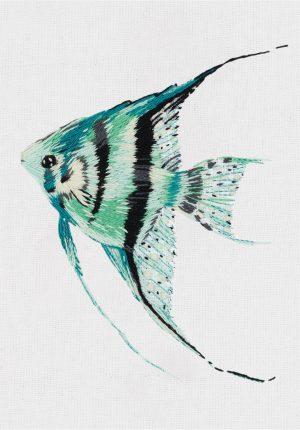 Набор для вышивания гладью Panna «Рыбка» JK-2204