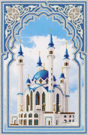 Набор для вышивания бисером Panna «Мечеть Кул Шариф в Казани» BN-5030
