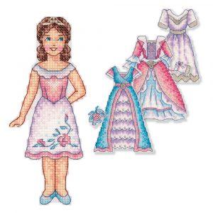 Набор для вышивания крестом Panna «Принцесса» IG-7169