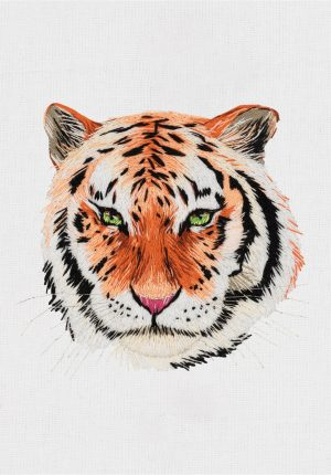 Набор для вышивания Panna «Тигр» JK-2177