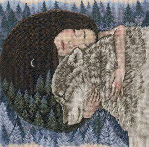 Набор для вышивания крестом РТО «Сердечные ритмы лесных просторов» M792
