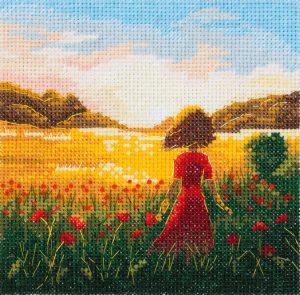 Набор для вышивания Panna «Последний день лета» PS-7211