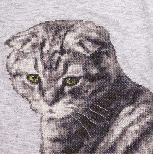 Набор для вышивания Золотое Руно «Кот Маркиз» ВН-002
