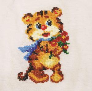 Набор для вышивания Золотое Руно «Веселый тигренок» ВН-004