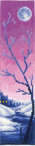 Набор для вышивания Сделай своими руками. Закладка «Сиреневые сумерки» З-49