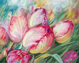 Набор для вышивания Сделай своими руками «Тюльпаны» Т-16