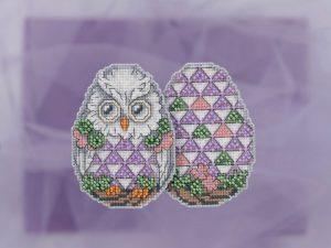 Набор для вышивания бисером MILL HILL «Сова» JS181814