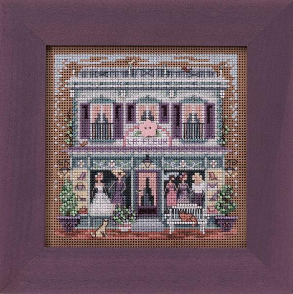 Набор для вышивания бисером MILL HILL «Цветочный магазин» MH142011