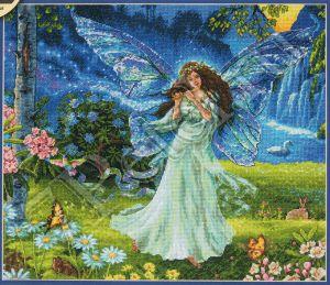 Набор для вышивки крестом Dimensions «Весенняя фея» DMS-70-35354