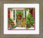 Набор для вышивки крестом Dimensions «Праздничный дом» DMS-70-08961