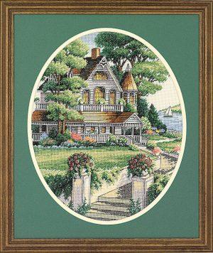 Набор для вышивки крестом Dimensions «Викторианский дом» DMS-03874