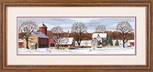 Набор для вышивки крестом Dimensions «Живописная ферма» DMS-03841