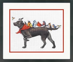 Набор для вышивки крестом Dimensions «Охотничья собака» DMS-70-35385