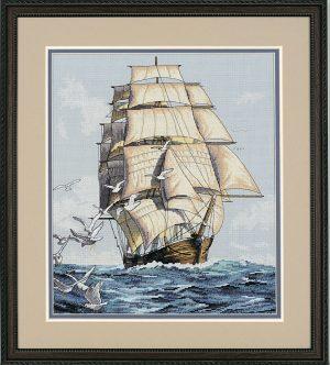 Набор для вышивки крестом Dimensions «Морское путешествие» DMS-03886