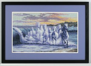 Набор для вышивки крестом Dimensions «Волна» DMS-35026