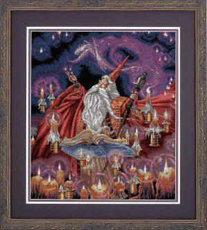 Набор для вышивки крестом Dimensions «Багровый волшебник» DMS-35141