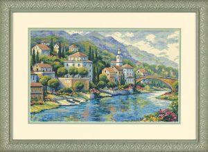 Набор для вышивки крестом Dimensions «Итальянский вид» DMS-35246